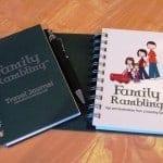 Family Rambling Journal Winner