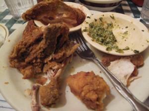 Loveless-Cafe-Fried-Chicken-Plate-After