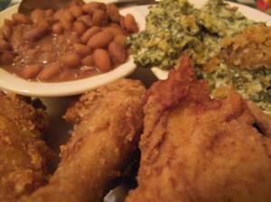 Loveless-Cafe-Fried-Chicken-Plate-Before