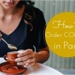 French Friday – How to order coffee in Paris