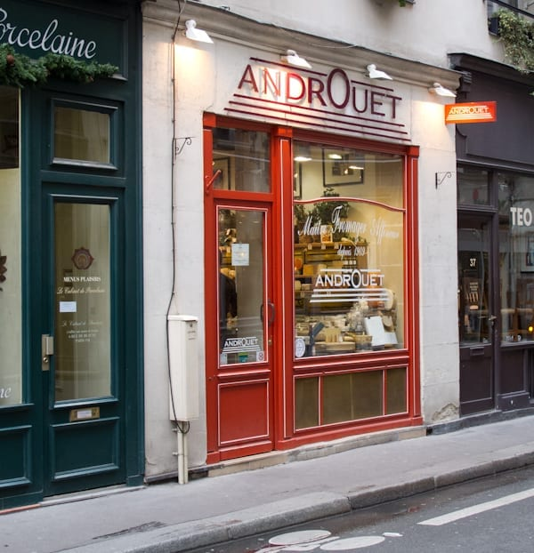 Androuet Cheese Shop Paris