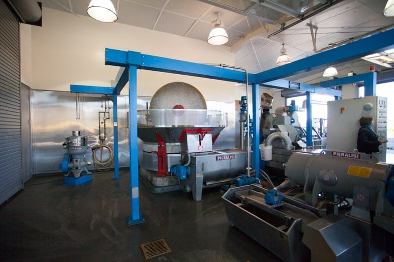 Napa's Round Pond Estate Olive Press