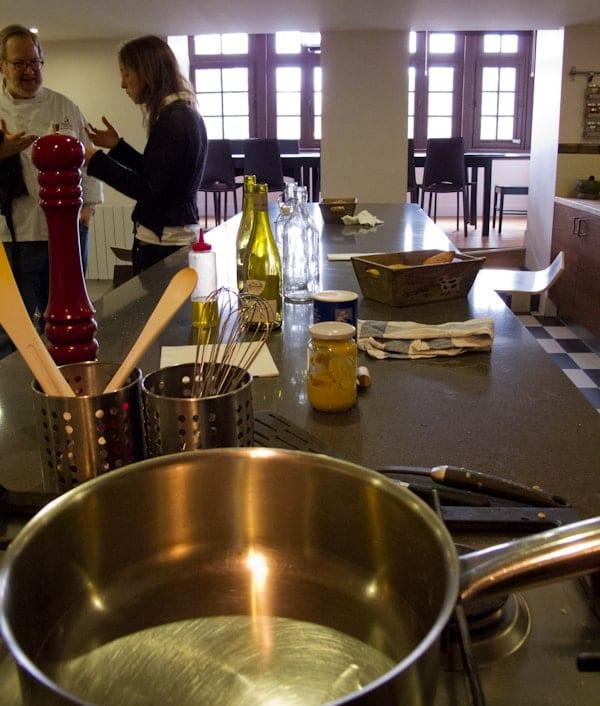 La Cuisine Paris kitchen