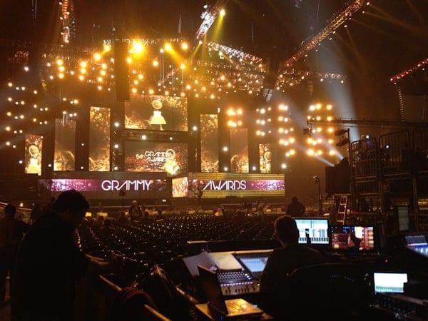 Grammys stage