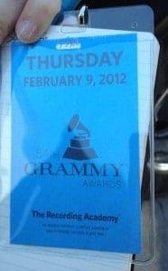 Grammys Pass for Thursday
