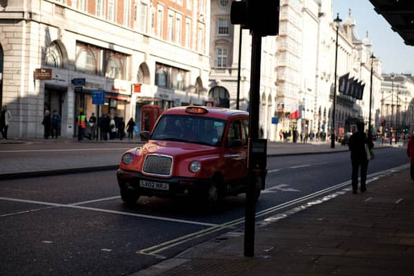 Red London Cab