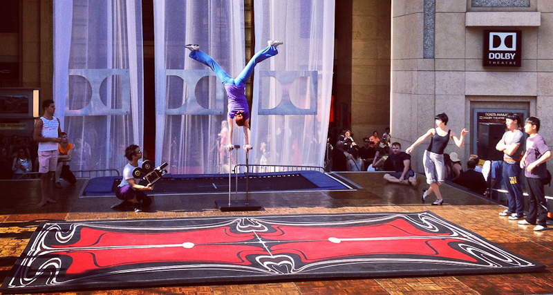 Cirque de Soleil Rehearsal