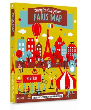 Crumbled City Junior Maps Paris
