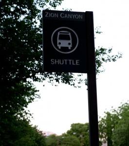 Springdale Zion Shuttle Bus Stop