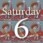 Saturday Six on Misadventures with Andi