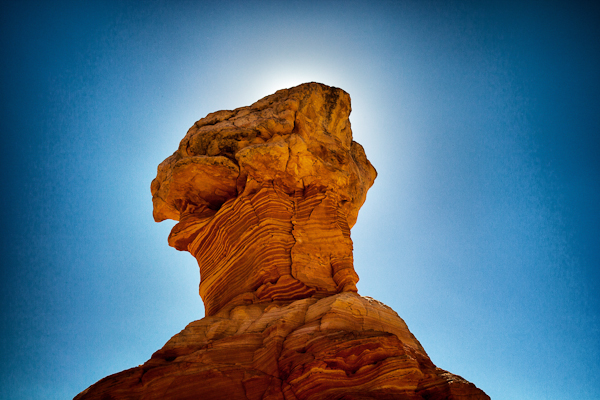 Rock formations in Cottonwood Canyon in Coyote Buttes South. (Photo credit Mr. Misadventures)