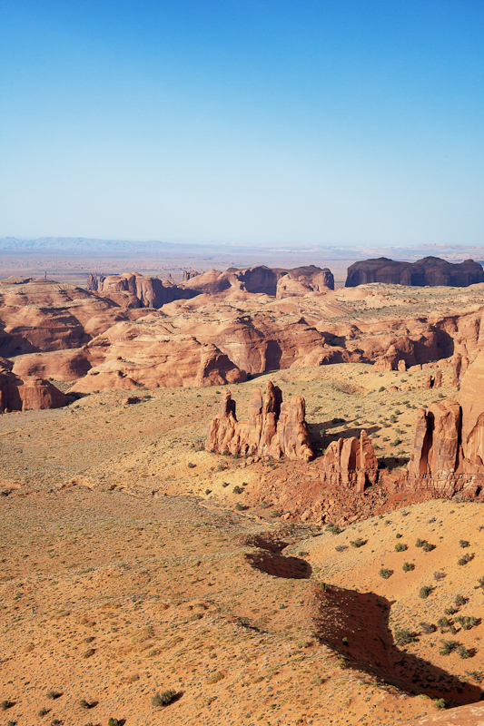 Hunts Mesa Monument Valley