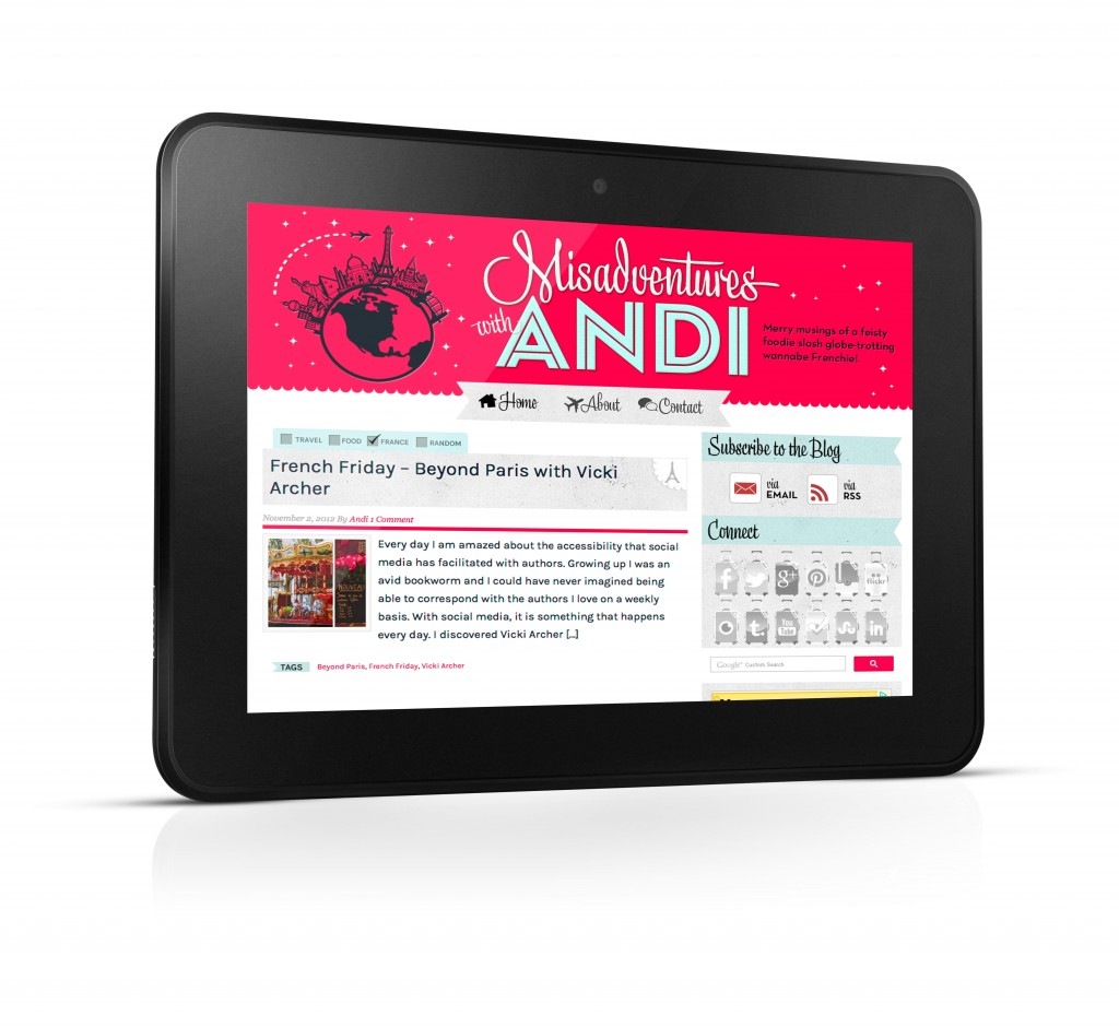Misadventures with Andi on Kindle Fire HD