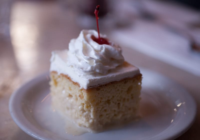 Cha Cha Cha Tres leches cake