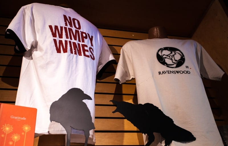 No Wimpy Wines at Ravenswood Winery