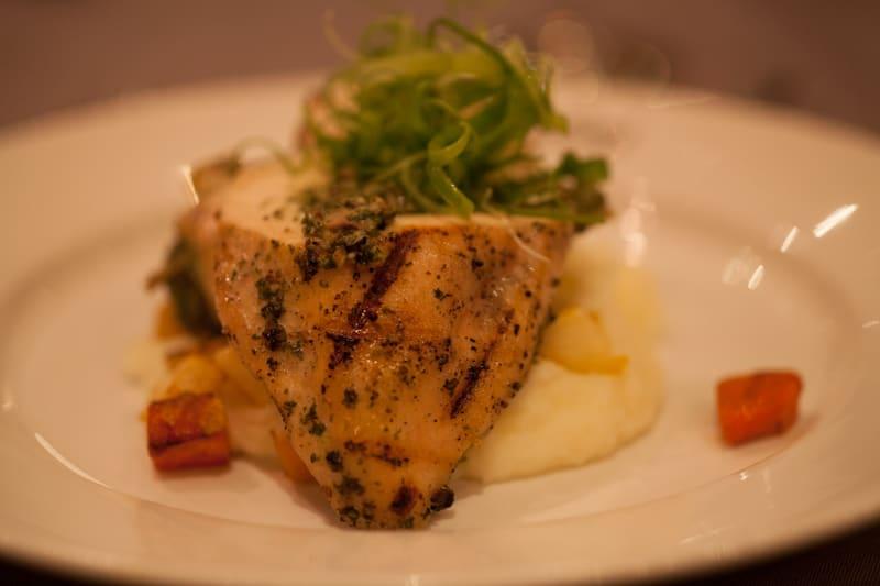 Ramekins Culinary School chicken dish
