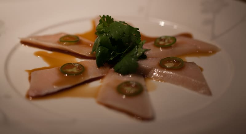 Nobu Yellowtail Sashimi with Jalapeno