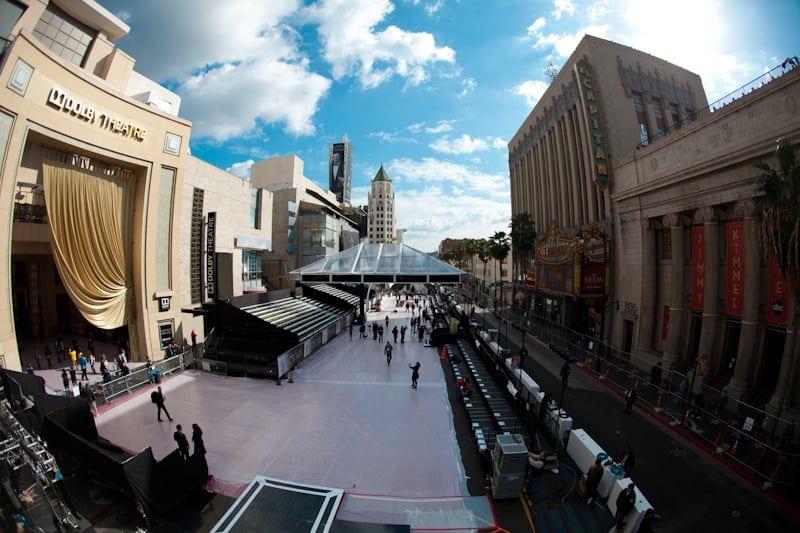 Oscars Red Carpet Area