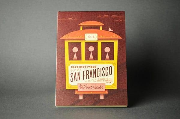 Herb Lester San Francisco Map