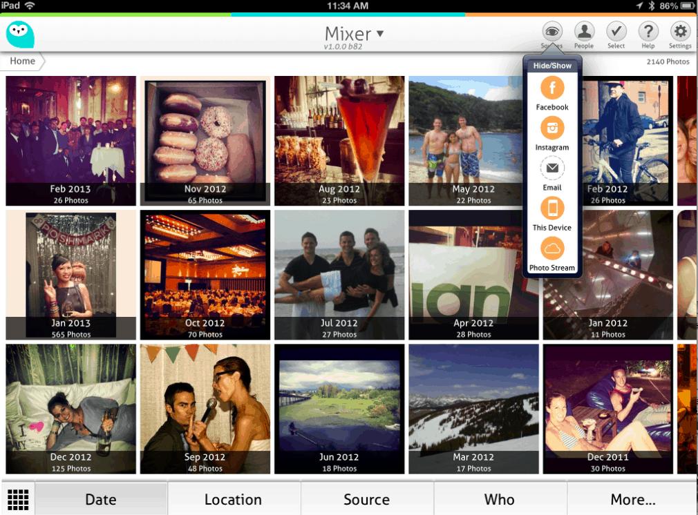 Wide Angle Dashboard Screenshot