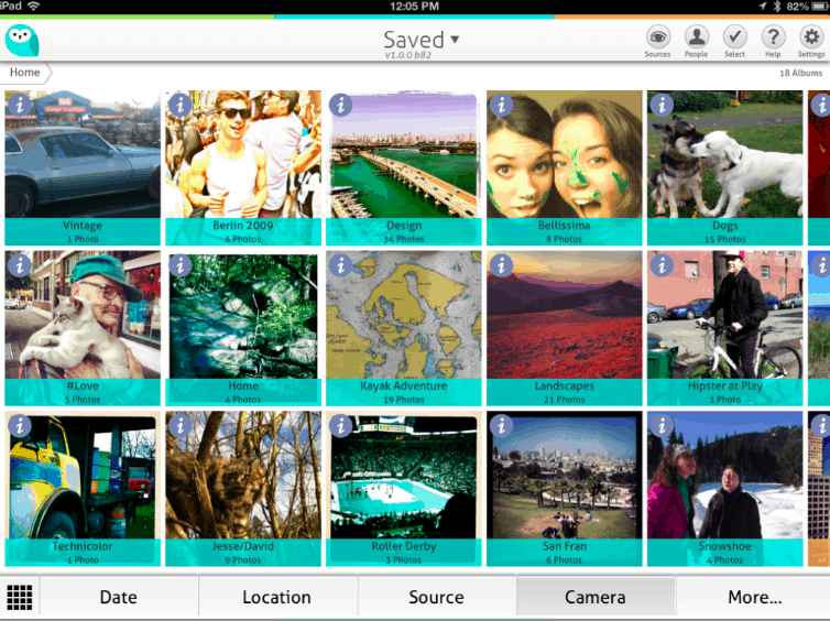 Wide Angle Photo Library Screenshot