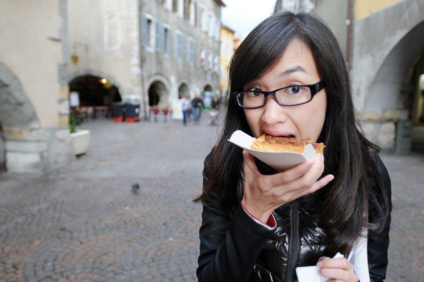 Eating through Europe