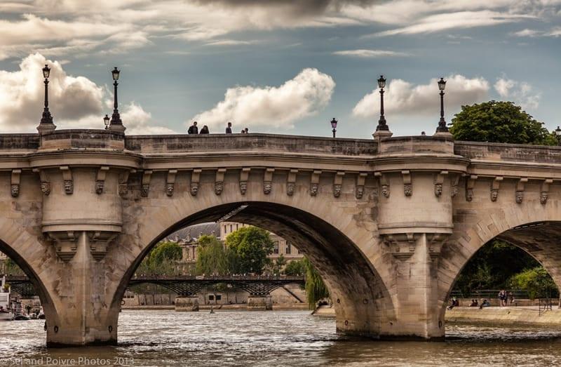 Paris-Bridge from La Seine