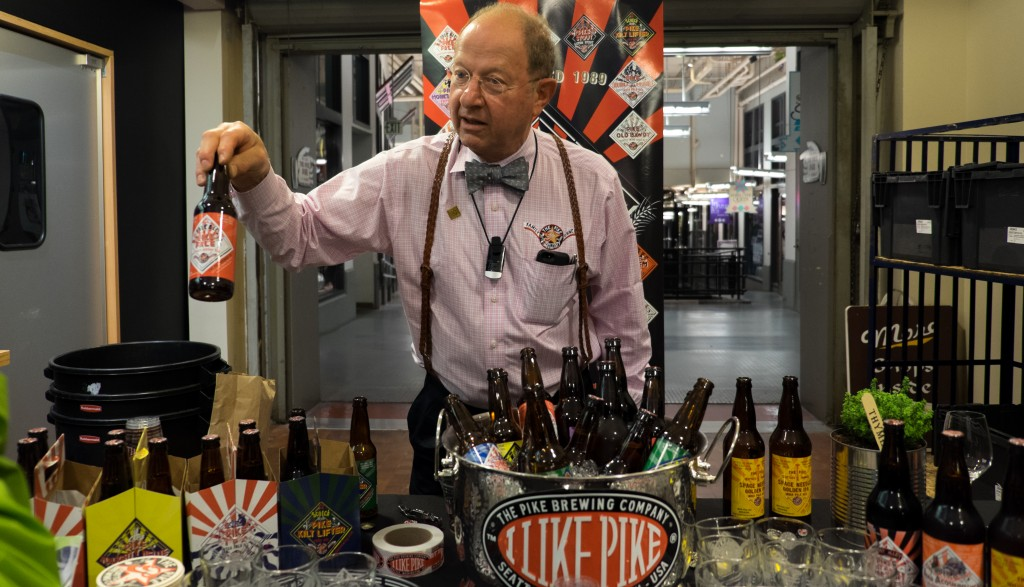 Mr. Finkel of Pike Brewery
