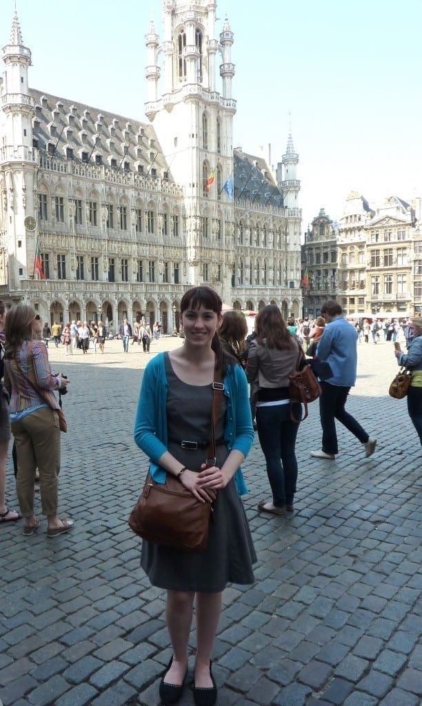 Traveler Tuesday – Kayla Kiteley of The Princess of Tea - Grand Market Belgium