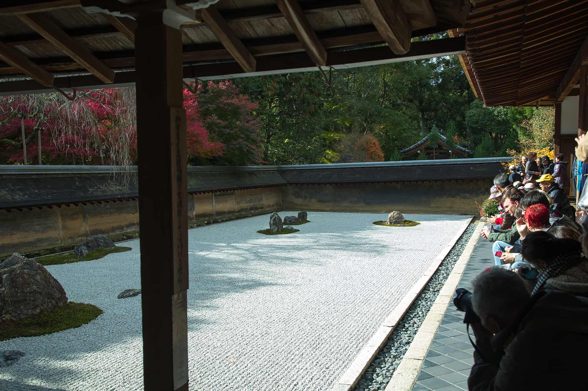 Ryoan-ji Temple Garden