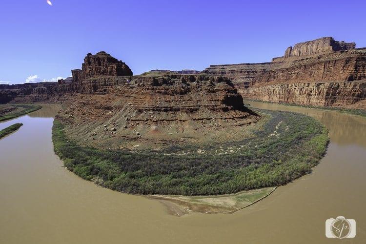 Canyonlands National Park Horseshoe Bend from Potash Road