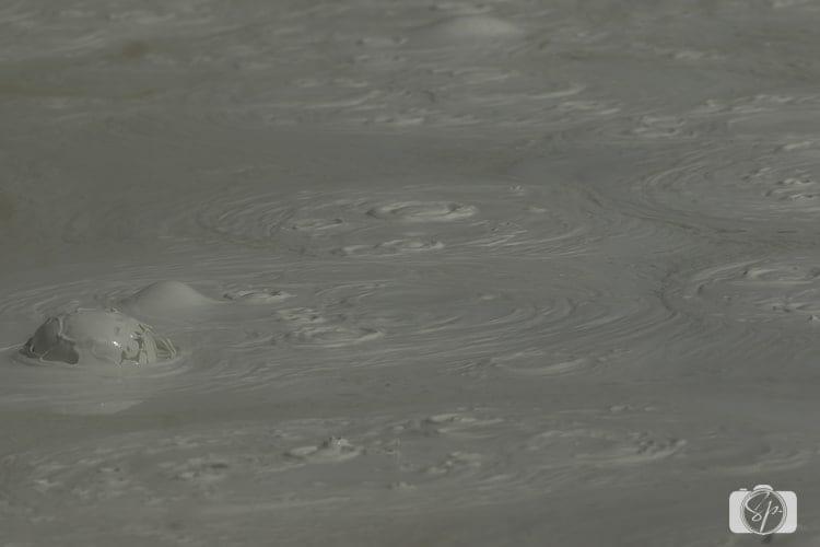 yellowstone national park bubblig mud