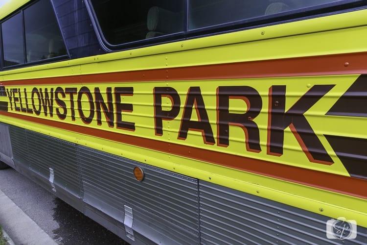 yellowstone national park bus