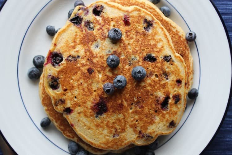 Dottie's True Blue Cafe has awesome blueberry cornmeal pancakes ...