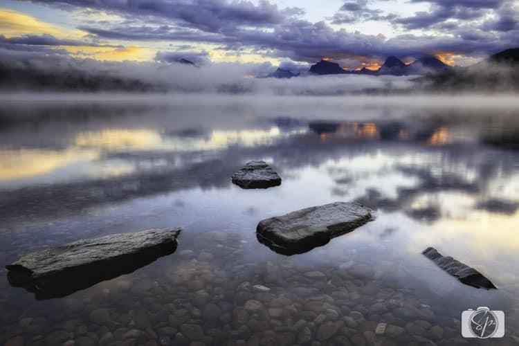 glacier-national-mcdonald-lake-sunrise